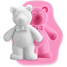 (Bear) - Bear Silicone Fondant Cake Icing Sugarcraft Decorating Mould Tools