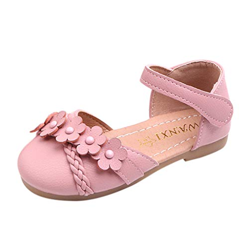 LILIGOD Mädchen Sandals Kinder Strandschuhe Coole Schuhe Einzelne Blume Schuhe Prinzessin Weicher Boden Gewebt Children Sommer Shoes Party Shoes Kinderschuhe Sneaker Entwickelt für Das Kind Satin Wrap Front Dress