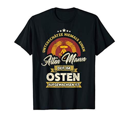 Unterschätze Nie Alten Mann Osten Tshirt