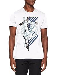 Amazon.fr   Versace - T-shirts, polos et chemises   Homme   Vêtements 3226b7d9782