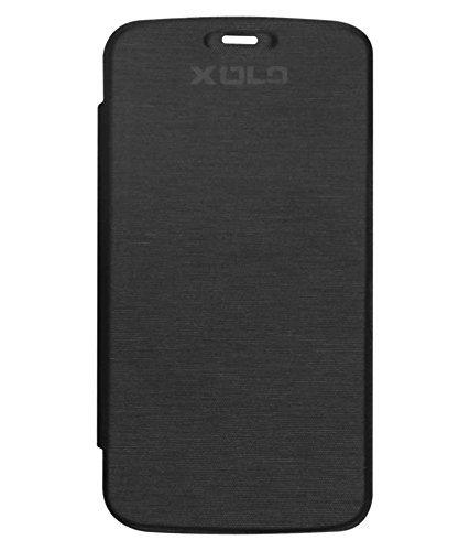 DMG Flip Cover for Lava XOLO Q1000 Opus (Black)