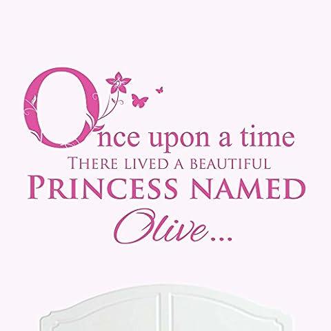 Une Belle Princesse nommé d'olive de lit Once upon a