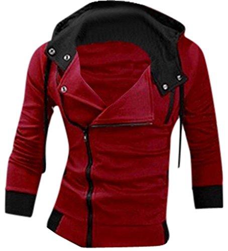 jeansian-Casuale-Sport-Uomo-Inverno-Moda-Giacca-Uomini-Tendenza-Cappotto-Design-Sottile-Capispalla-8945-Red-L