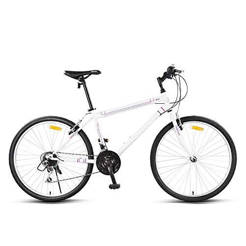 Huoduoduo Fahrrad, Mountainbike, 26 Zoll 24 Speed Doppelscheibenbremse Hoch-Kohlenstoffstahl High-end-geländewagen,Geeignet für Outdoor-Reisen Alpinismus