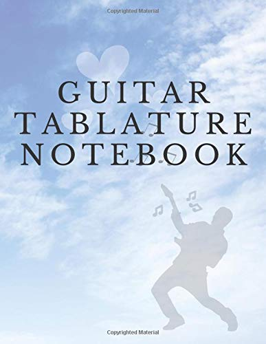 Elephant Apparel (Guitar Tablature Notebook: Electric & Acoustic Guitar Tab & Sheet Music Notebook with blank Tablature & Chords -- Great Guitar Accessories & Gift Idea for Guitarists, Guitar Teacher & Students.)