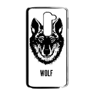 LG G2 Phone Case THE WOLF WTW622741