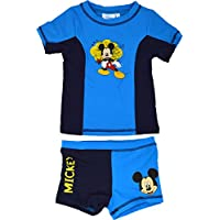 Mickey Mouse Swim Suit Disney Swimming Trunks Top Ages 3 To 8 Years