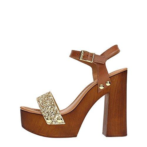 Tosca Blu SS1628S547 Sandalo Donna Cuoio Oro Oro 39