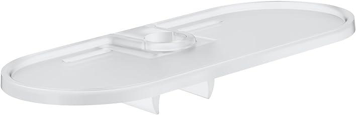 Grohe EasyReach | Brausen- und Duschsysteme - Ablage | für New Tempesta, 26 x 12 x 6 cm, silber, Kunststoff | 27596000