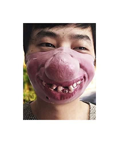 Unbekannt DS Maske mit grosser Nase Halloween Fasching KOSTÜM
