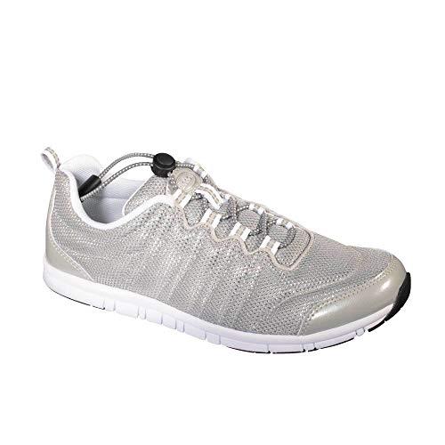 Scholl Sneakers Wind Step Silber 38