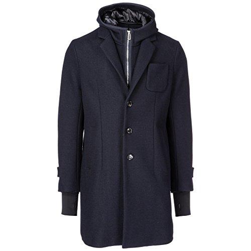 Emporio Armani Herren Herrenmantel Mäntel Wolle blu EU 50 (UK 40) 6Z1LN81NGGZ0920