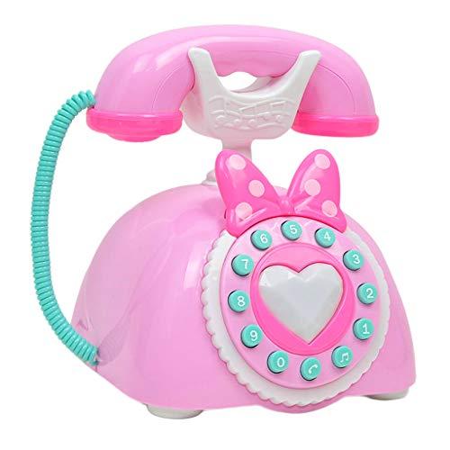MagiDeal Juguete de Teléfono Antiguo Vintage Plástico...