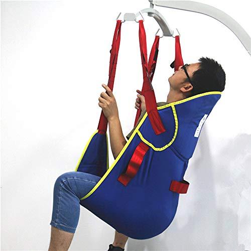 41AHodGWLPL - ZIHAOH Elevación Paciente De Cuerpo Completo con Soporte De La Cabeza, para Bed Posicionamiento De Cargas - Bariátrica para Discapacitados Elevador para Enfermería, Cuidadores, Ancianos