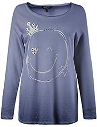 Ulla Popken Femme Grandes tailles Sweat-shirt 709079