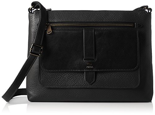 fossil-kinley-womens-cross-body-bag-schwarz-black-9-x-23-33-cm-wxhxd