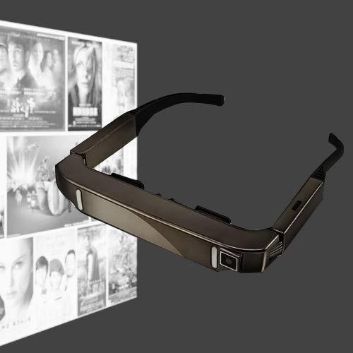 MD Alex VISION-800 Android 4.4 1 GB + 2 GB Super Smart Retina Brille 3D VR Virtual Reality Headsets mit 5.0MP Kamera, Unterstützung von WiFi, Bluetooth, TF-Karte, Videoaufzeichnung