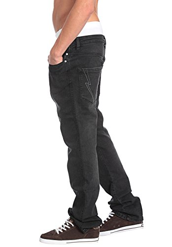 Reell Skin Stretch Jeans Faded Black Denim
