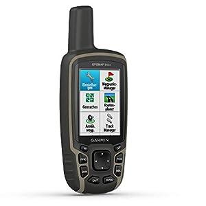 """Garmin GPSMAP 64sx – robustes, wasserdichtes GPS-Outdoor-Navi mit 2,6"""" Farbdisplay, 3-Achsen-Kompass, Barometer, ANT…"""