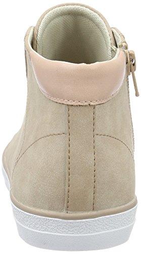 Esprit Miana, Sneakers Hautes Femme Rose (Dark Old Pink 675)