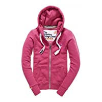 Superdry - Orange Label Primary Zip Hoody, Chick Pink Snowy, XS