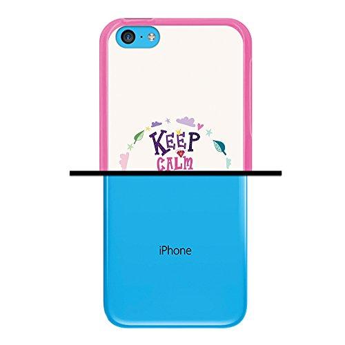 WoowCase Hülle Case für { iPhone 5C } Handy Cover Schutzhülle Schwarzer Basketballspieler Housse Gel iPhone 5C Rosa D0157