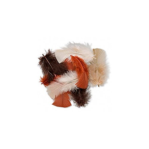 mischung-aus-federn-von-putenschenkeln-farben-effektvoll-mit-brauntonen-kombiniert-4-bis-11-cm-schwa