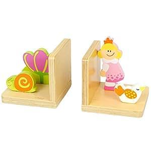 serre livre enfant cale livre en bois bloc livre princesse pour d coration de la chambre d. Black Bedroom Furniture Sets. Home Design Ideas