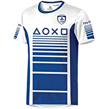 Playstation Trikot T-Shirt Blau/Weiß