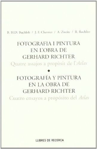 Descargar Libro GERHARD RICHTER. 4 ENSAYOS SOBRE AT: Four Essays on Atlas (MUSEU D'ART CONTEMPORANI DE BARCELO) de BUCHLOH
