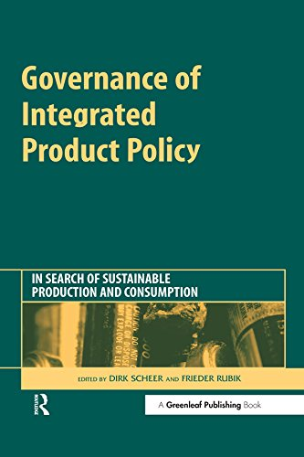 Governance of Integrated Product Policy: In Search of ...