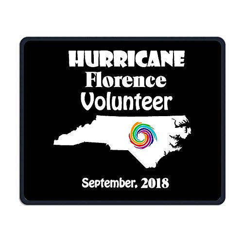 North Carolina Hurricane Florence Volunteer 1 Tapis de Souris Non-Slip Gaming Mouse Pad Mousepad for Working,Gaming and Other Entertainment