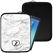 """Personalised Marble Neoprene Tablet Sleeve Bag Case -(95)- Acer Aspire Switch 10 E (SW3-013) (10.1"""")"""