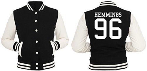 Hemmings 96 Giacca Collegio Girls Nero-XL