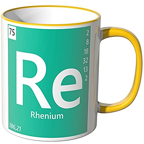 Wandkings® Tasse, Element Rhenium