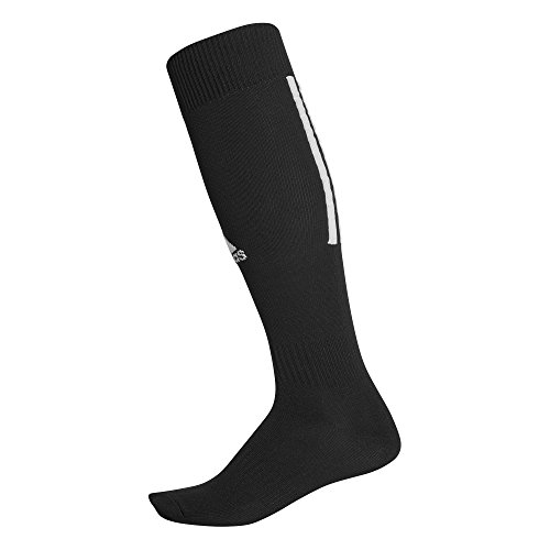 Adidas santos 18, calze uomo, nero/bianco, 43-45