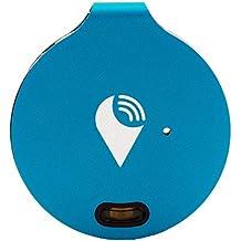 TrackR bravo - Dispositivo Bluetooth de rastreo. Dispositivo de rastreo de llaves. Buscador de teléfono. Localizador de cartera. Generación 2, Pack de 1 Azul