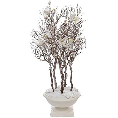 Coppa Magnolia piante sintetiche