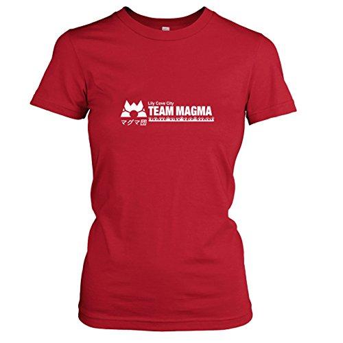 TEXLAB - Team Magma - Damen T-Shirt Rot