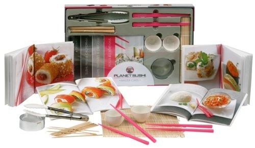 Planet sushi master class : Coffret 4 livres et accessoires par Hachette