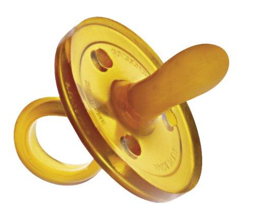 GOLDI Schnuller ovale Form Naturkautschuk 0-6 Monate