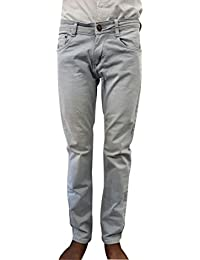 Style Rocks Men's Casual Cotton Regular Fit Jeans (SRJ-10_Blue)