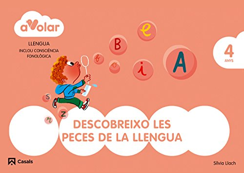 Llengua. Descobreixo les peces de la llengua 2. 4 anys. A volar! - 9788421854228 por Aa.Vv.