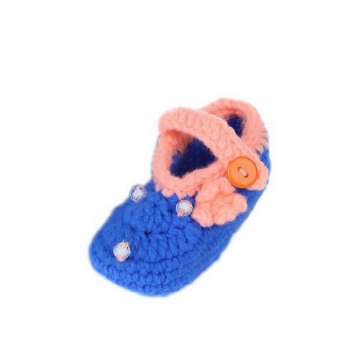 JTC Strickschuh One Size Baby Mit Süßen Muster Flaumweich Colour #42