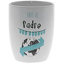 """DonRegaloWeb - Set de 6 mugs de cerámica """"Eres el padre más genial del mundo"""""""