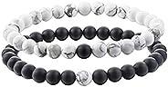 Yellow Chimes D'Vine Couple Collection Charm Bracelet for Women (Black; White)(YCFJCPBR-621DVINE-W