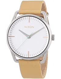 Nixon Damen-Armbanduhr Analog Quarz Leder A1291603-00