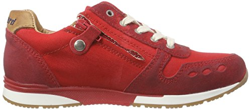 Bisgaard Shoe with Laces, Baskets Basses Mixte Enfant Rouge (151 True red)