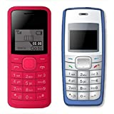 I KALL 1.44 Inch Feature Phone Combo - K73 (Red) And K72 (Blue)