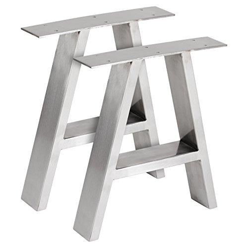 Hartleys Tischbeine in A-Form im Bauhaus-Stil - Verschiedene Größen & Farben -